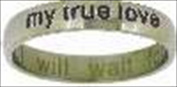 Solid Rock Jewellery 55576 Ring I Will Wait True Love Style 372 Size 9