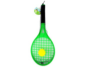 Toy tennis racket with foam ball - Case of 24