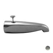 Westbrass D3111-07 22cm . Brass Rear Diverter Tub Spout - Satin Nickel