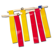 Collegiate Pacific 1149562 Triple Threat Flag Football Belts - Blue Small