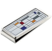 Visol VMC02 Polychrome Stainless Steel Money Clip