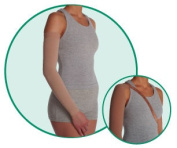 Juzo 3511CGRSB I Varin 3511CG Armsleeve 20-30mmHg with Silicone Border - Size- I - X-Small Length- R-Regular