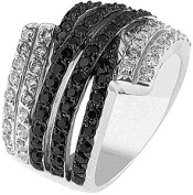 Doma Jewellery MAS02361-9 Sterling Silver Ring with Cubic Zirconia - Size 9