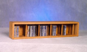 Wood Shed 103D-3 Solid Oak desktop or shelf CD Cabinet