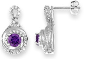 Doma Jewellery MAS09102 Sterling Silver Earring with CZ
