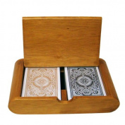 Bry Belly GKEM-301.GPLA-001 Wooden Box Set Arrow Black-Gold Narrow Jumbo