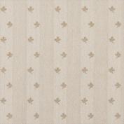 Designer Fabrics C635 140cm . Wide Khaki And Beige Mini Flowers Country Style Upholstery Fabric