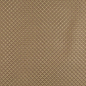 Designer Fabrics D359 140cm . Wide Brown And Beige Small Scale Shell Jacquard Woven Upholstery Fabric