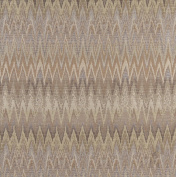 Designer Fabrics C480 140cm . Wide Gold Beige And Platinum Woven Flame Stitch Upholstery Fabric