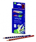 Prang Non-Toxic Colour Pencil Set - Assorted Colour Set - 12