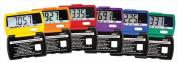 Accusplit Ultra Thin Rainbow Pedometers Set 6