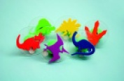 Ready2Learn Giant Dinosaurs Stamp Set With Storage Case - 7.6cm . - Set - 6