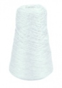 Trait-Tex 240ml Acrylic 4-Ply Double-Weight Yarn Refill Cone - 315 Yd. Dispenser Box White