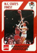 Panagiotis Fasoulas Basketball Card (N.C. North Carolina State) 1989 Collegiate Collection No.85