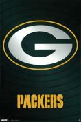 Hot Stuff Enterprise Z147-24x36-NA Packers Logo Poster 24 x 36