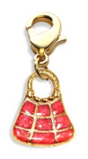 Whimsical Gifts 3782G Tic-Tac-To Purse Charm Dangle Gold