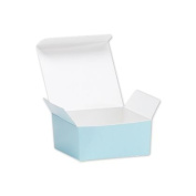 Deluxe Small Business Sales MB4BU 2.63 x 6.4cm x 3.2cm . Ballotin Candy Boxes Light Blue