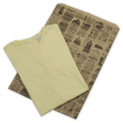 Deluxe Small Business Sales 55-NP 14 x 7.6cm x 50cm . Newsprint Merchandise Bags Black