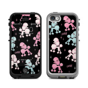DecalGirl LN5C-PDLRAMA Lifeproof iPhone 5C Nuud Case Skin - Poodlerama