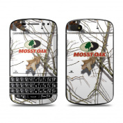 DecalGirl BQ10-MOSSYOAK-SNW BlackBerry Q10 Skin - Break-Up Lifestyles Snow Drift