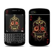 DecalGirl BQ10-MUERTE BlackBerry Q10 Skin - Muerte