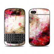 DecalGirl BQ10-WFLOWER BlackBerry Q10 Skin - Woodflower