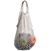 Cosmos ® Cotton Net Shopping Tote Ecology Market String Bag Organiser