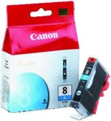 Printer Supplies CNMCLI8C Canon InkJet Cartridge Cyan No. CLI-8 Cyan
