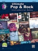 Alfred 00-40793 ULTIMATE POP & ROCK SOLOS-CL-BK & CD