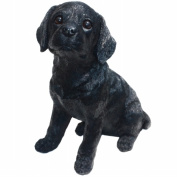 Michael Carr Designs MCD80098 Shadow Black Labrador Puppy Large