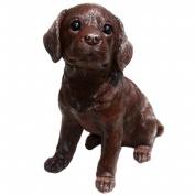 Michael Carr Designs MCD80100 Fudge Chocolate Labrador Puppy Large