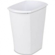Sterilite Corp Wastebasket Rect Wht 11.4l10518006