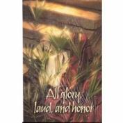 Concordia Publishing House 39518 Bulletin-E-Palm Sunday-All Glory Laud And Honour