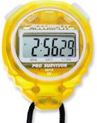 Accusplit A601XLN Pro Survivor Stopwatch with Lemon Case