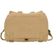Fox Outdoor 43-095 Retro Hungarian Shoulder Bag With Plain Flap - Khaki
