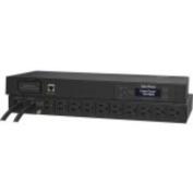 Cyberpower PDU15M10AT 15a Metered Ats Pdu 120v 5 15