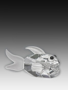 Asfour Crystal 952-3 3.54 L x 2.04 H in. Crystal Fish Sea Figurines