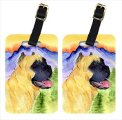 Carolines Treasures SS8233BT Cane Corso Luggage Tags Pack - 2