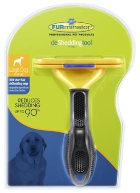 Furminator 811794010881 DOG SHORT HAIR LARGE D-SHED