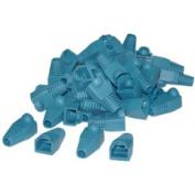 Cable Wholesale RJ45 Strain Relief Boots Blue 50 Pieces Per Bag