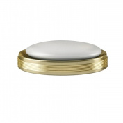 Tatara Group JW3H NuSteel Jewel Gold Finish Soap Dish