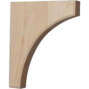 Ekena Millwork BKTW02X10X12CVRO 4.4cm . W x 25cm . D x 30cm . H Clarksville Architectural Bracket Red Oak