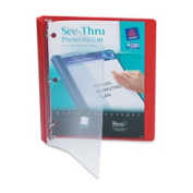 Avery Consumer Products AVE10852 3 Ring View Binder- 2.5cm . Capacity- 28cm .x 8-.130cm .- Black