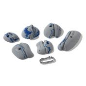 Nicros HQL Crannies Grey Polyester Handholds