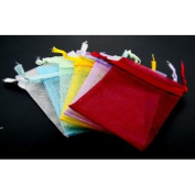 Bulk Buys 12 Assorted Organza Pouches - Pack of 3
