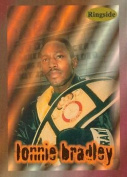 Autograph Warehouse 84413 Lonnie Bradley Card Boxing 1996 Ringside No .27