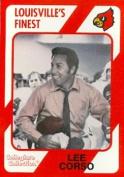 Autograph Warehouse 101746 Lee Corso Football Card Louisville 1989 Collegiate Collection No. 138