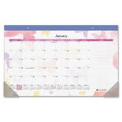 At-A-Glance AAGSK91705 Calendar Desk Pad Mthly Jan-Dec 1PPD17.190cm . x 28cm .Multi