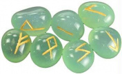 Azure Green RRAQU Aquamarine Rune Set