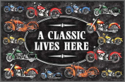 International Wholesale Gifts 017-1876 A Classic Lives Here